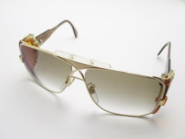CAZAL(カザール) サングラス MOD955 ブラウン×ゴールド プラスチック×金属素材
