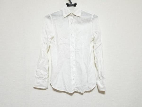 ORIAN(オリアン) 長袖シャツブラウス サイズ38 M レディース美品  白