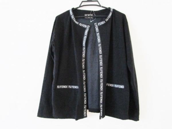 FENDI jeans(フェンディ) カーディガン レディース 黒×白
