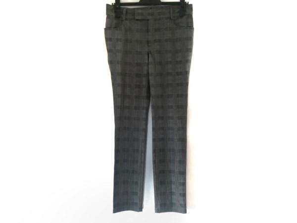 49アベニュージュンコシマダ パンツ サイズ38 M レディース 黒×グレー×ピンク