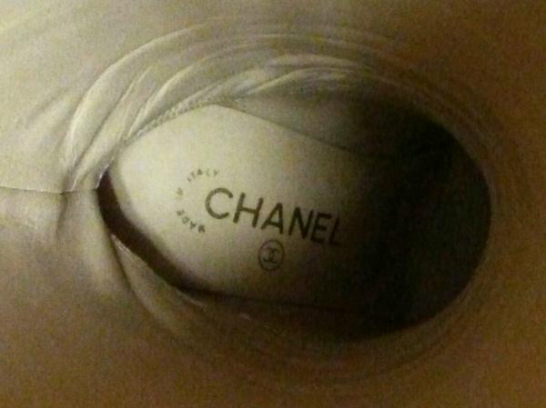 CHANEL(シャネル) ロングブーツ 37 レディース G27947 黒 チェーン レザー