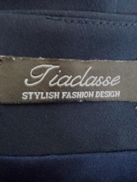 Tiaclasse(ティアクラッセ) ワンピース サイズ9 M レディース美品  ネイビー