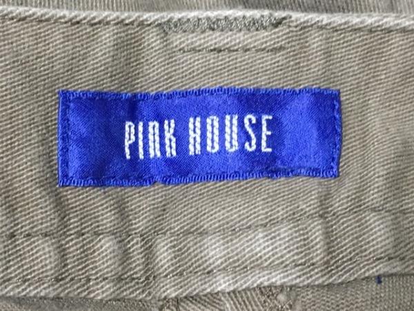 PINK HOUSE(ピンクハウス) ハーフパンツ サイズS レディース美品  カーキ フリル