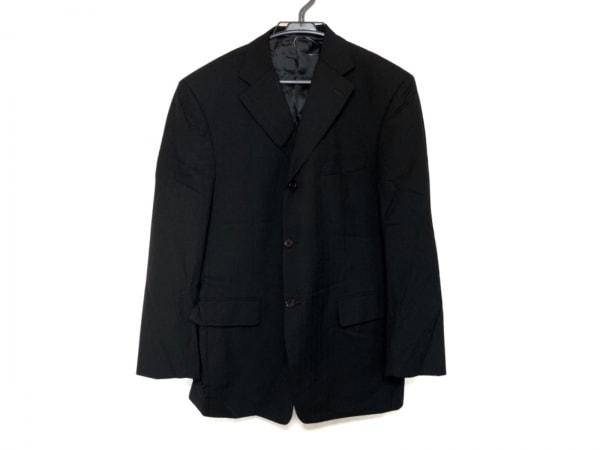KENT&CURWEN(ケント&カーウェン) ジャケット メンズ美品  黒 ストライプ