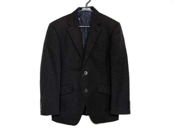 ケント&カーウェン ジャケット メンズ美品  黒×ダークブラウン 肩パッド