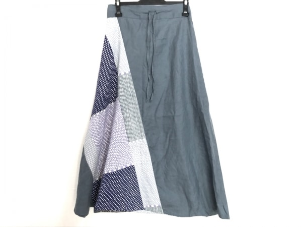 SOU・SOU(ソウソウ) パンツ サイズM レディース ダークグレー×アイボリー×マルチ