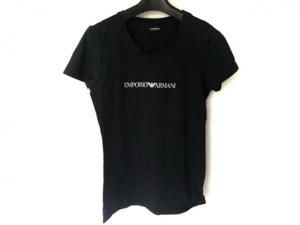 EMPORIOARMANI(エンポリオアルマーニ) 半袖Tシャツ レディース ダークネイビー
