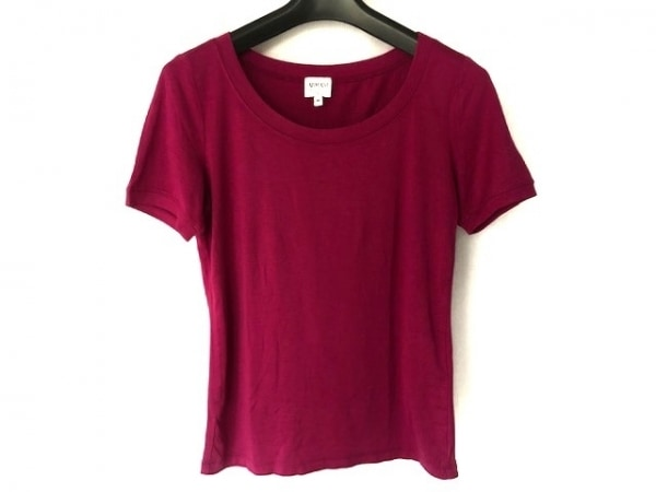 アルマーニコレッツォーニ 半袖Tシャツ サイズ40 M レディース美品  ピンク