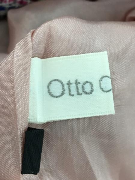 OTTO(オットー) コート サイズ15L レディース美品  ピンク×グリーン×マルチ