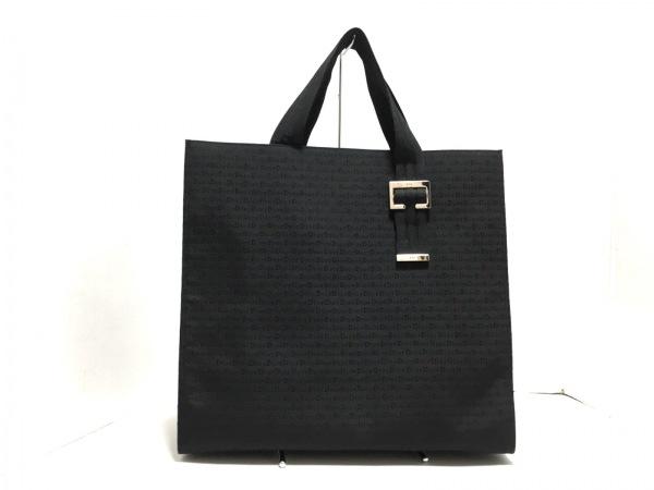 Dior HOMME(ディオールオム) トートバッグ美品  黒 ジャガード