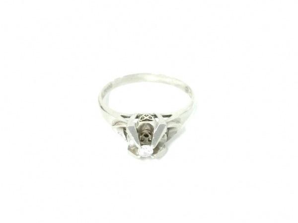 ノーブランド リング Pt900×ダイヤモンド クリア 総重量:3.5g/005刻印