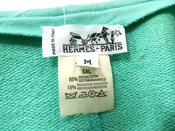 HERMES(エルメス) ジャケット サイズM レディース ライトグリーン