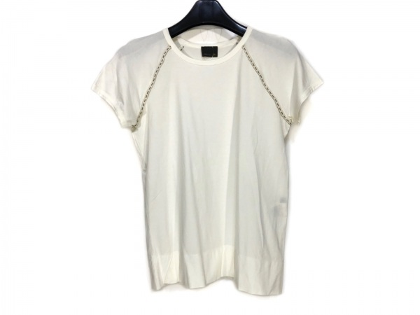 FENDI(フェンディ) 半袖Tシャツ サイズ40 M レディース アイボリー