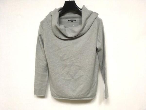 23区(ニジュウサンク) 長袖セーター サイズ38 M レディース美品  ライトグレー