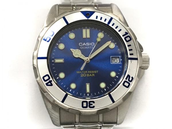 CASIO(カシオ) 腕時計 EFL-200 ボーイズ ブルー