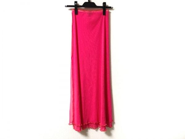 JeanPaulGAULTIER(ゴルチエ) ロングスカート サイズ40 M レディース美品  ピンク