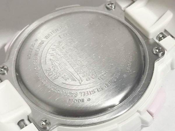 CASIO(カシオ) 腕時計新品同様  Baby-G BA-255WLP レディース WILDLIFE PROMISING 白