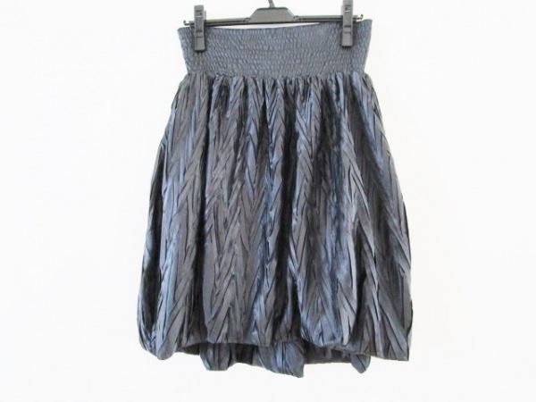 FENDI(フェンディ) バルーンスカート サイズ40 M レディース美品  ダークネイビー