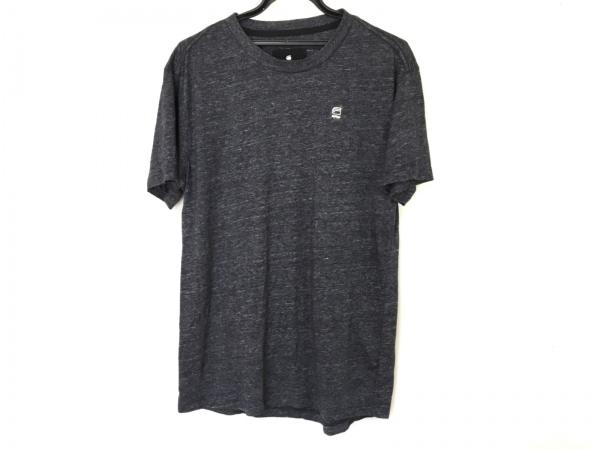 G-STAR RAW(ジースターロゥ) 半袖Tシャツ メンズ ダークグレー×ライトグレー