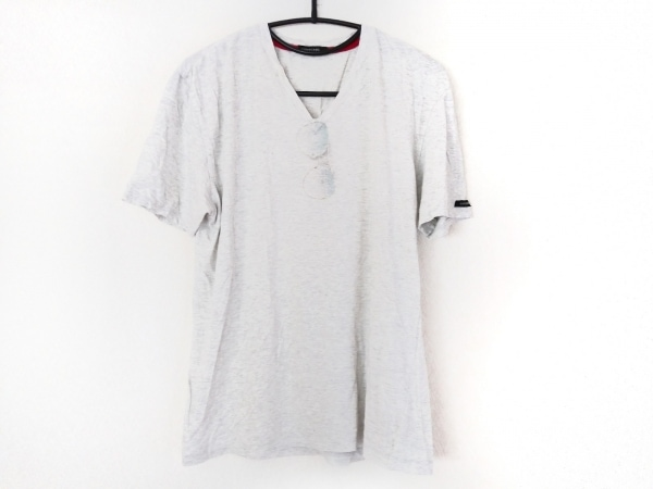 LOVELESS(ラブレス) 半袖カットソー サイズ3 L メンズ ライトグレー