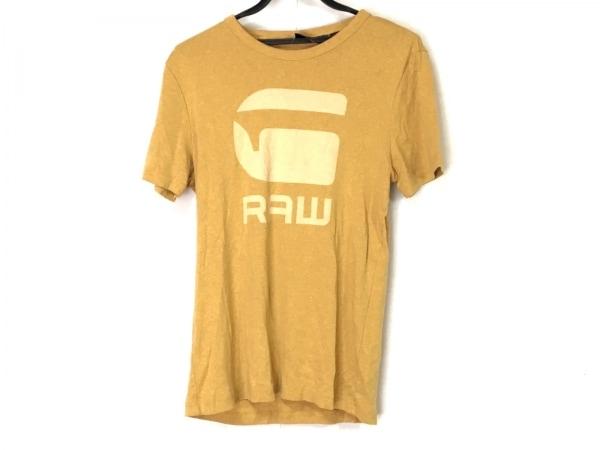 G-STAR RAW(ジースターロゥ) 半袖Tシャツ サイズM メンズ イエロー
