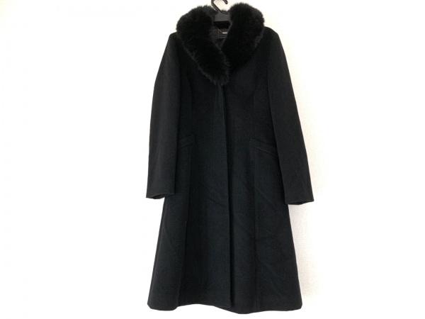 ef-de(エフデ) コート サイズ9 M レディース美品  黒 冬物