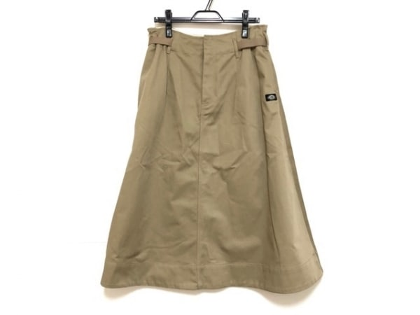 Dickies(ディッキーズ) ロングスカート サイズM レディース美品  ベージュ