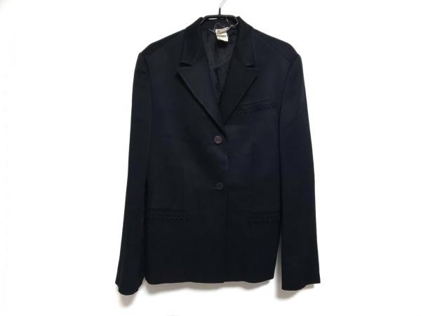 VERSACE(ヴェルサーチ) ジャケット サイズ40 M レディース 黒