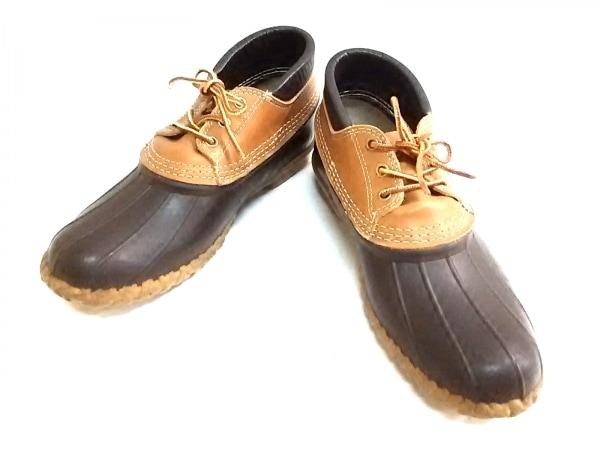 L.L.Bean(エルエルビーン) シューズ 26 メンズ ダークブラウン×ブラウン Bean Boots