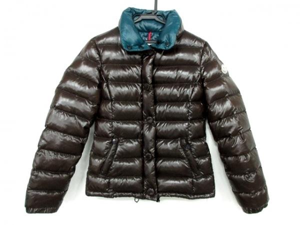 モンクレール ダウンジャケット サイズ00 XS レディース CLAIRY ダークブラウン 冬物