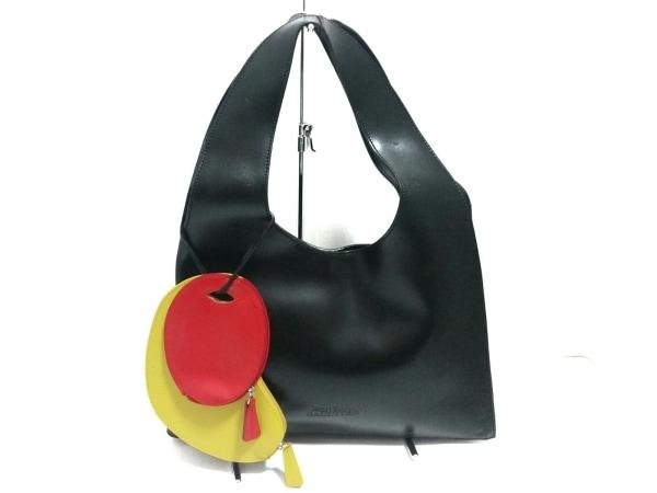 JeanPaulGAULTIER(ゴルチエ) トートバッグ美品  黒 レザー