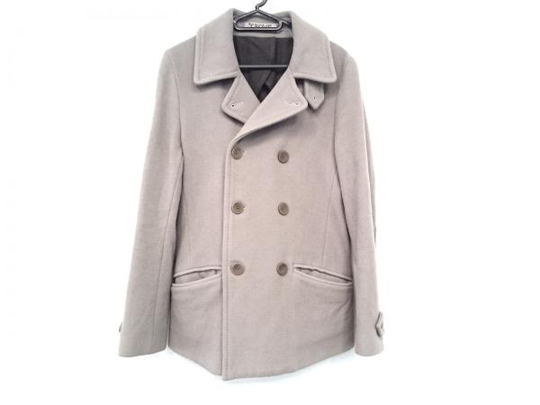 TROVE(トローヴ) Pコート サイズ3 L レディース新品同様  ブラウングレー 冬物