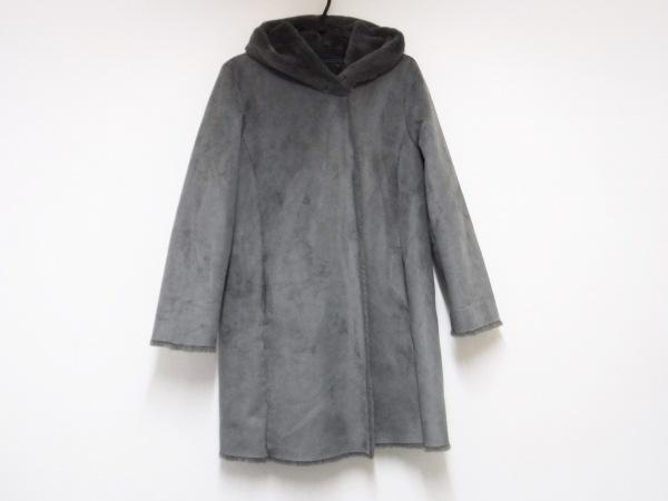 IENA SLOBE(イエナ スローブ) コート サイズ40 M レディース美品  ダークグレー