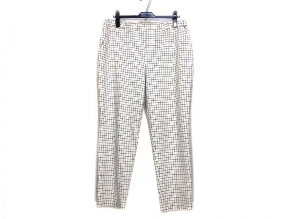 自由区/jiyuku(ジユウク) パンツ サイズ48 XL レディース 白×ダークグレー
