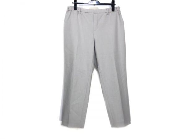 自由区/jiyuku(ジユウク) パンツ サイズ48 XL レディース ライトグレー