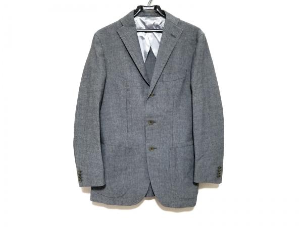 インターナショナルギャラリービームス ジャケット サイズ48 XL メンズ美品  グレー
