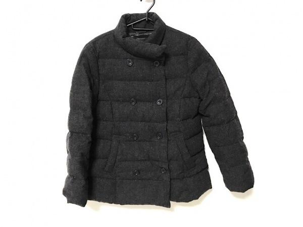 ビームス ダウンジャケット サイズ40 M レディース ダークグレー Demi-Luxe/冬物