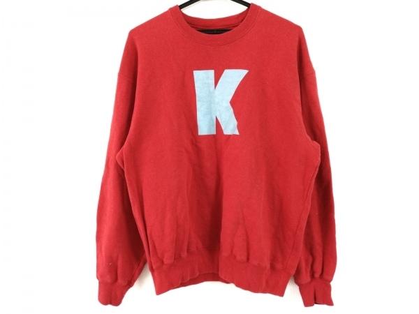 KarlHelmut(カールヘルム) トレーナー メンズ - - レッド×ライトブルー 長袖