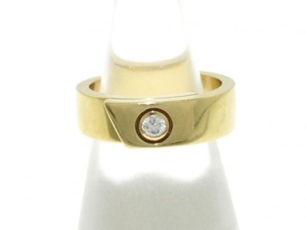 Cartier(カルティエ) リング 51 アニバーサリーリング K18YG×ダイヤモンド