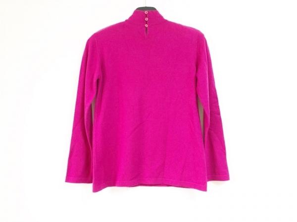 ESCADA(エスカーダ) 長袖セーター サイズ36 M レディース ピンク ハイネック/肩パッド