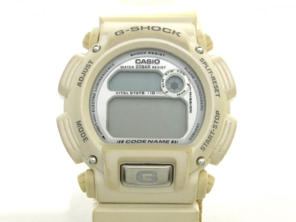 CASIO(カシオ) 腕時計 G-SHOCK DW-8800 メンズ FAIRBANKS ALASKA シルバー