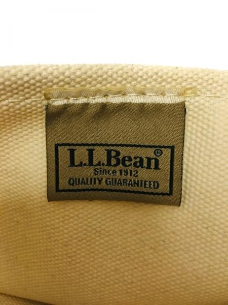 L.L.Bean(エルエルビーン) トートバッグ アイボリー×ネイビー キャンバス