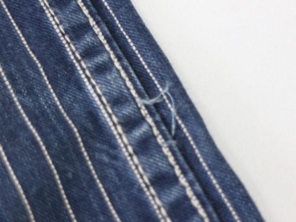 schott(ショット) パンツ サイズ30 メンズ ブルー×白 ストライプ