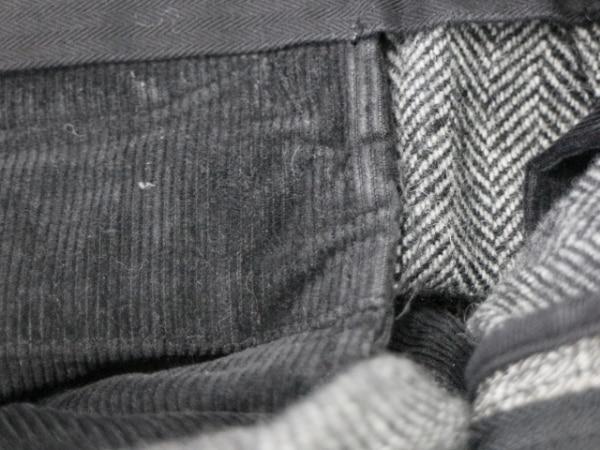 schott(ショット) パンツ サイズ32 XS メンズ 黒×白×グレー