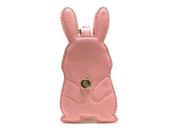 Maison de FLEUR(メゾンドフルール) カードケース美品  ピンク×ゴールド 合皮