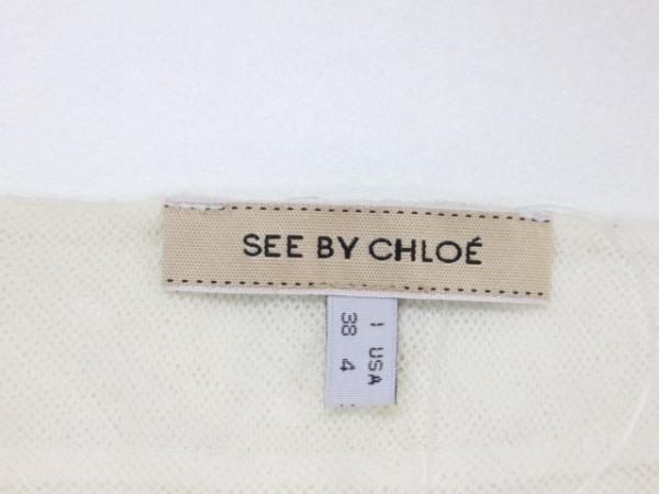 SEE BY CHLOE(シーバイクロエ) タンクトップ サイズ38 M レディース アイボリー