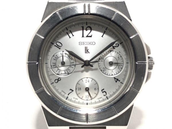 SEIKO(セイコー) 腕時計 ルキア 5Y89-0B20 レディース トリプルカレンダー シルバー