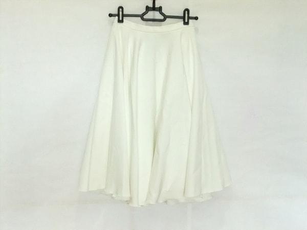 ダブルスタンダードクロージング スカート サイズF レディース 白