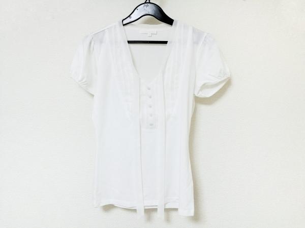ANAYI(アナイ) 半袖カットソー レディース 白 リボン