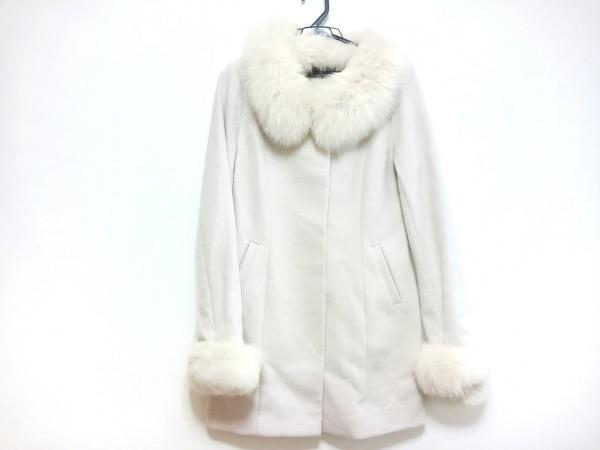 rienda(リエンダ) コート サイズS レディース ピンク ファー/冬物